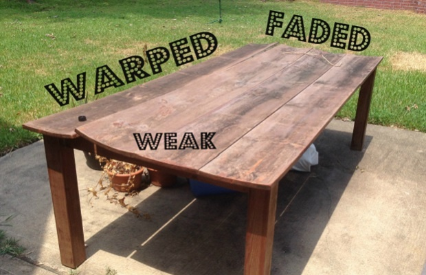 Broken wood outdoor table.jpg