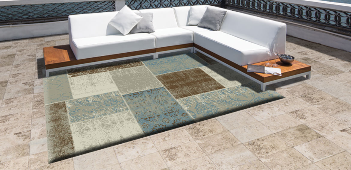 Mobelli's Top 5 trends -outdoor rug
