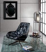 Mobelli-Franklin-Occasional-Chair-In-Black-PU-Lifestyle-Image4