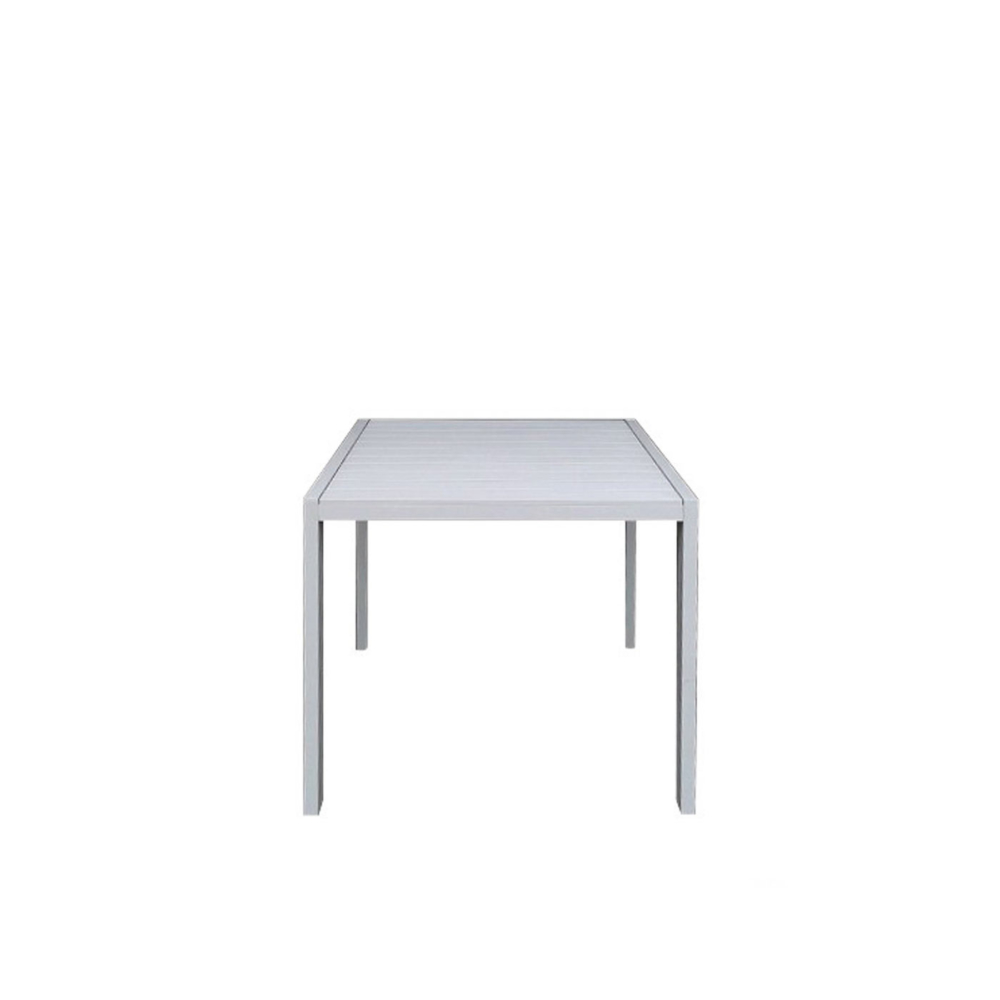 Piana-Outdoor-Dining-Table-90x90-White-Front-View-1000x1000