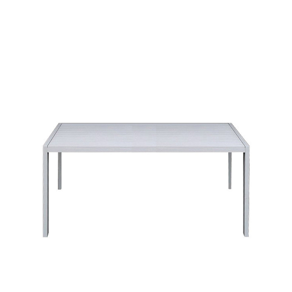 Piana-Outdoor-Rectangular-Table-in-White-Front-View-1000x1000