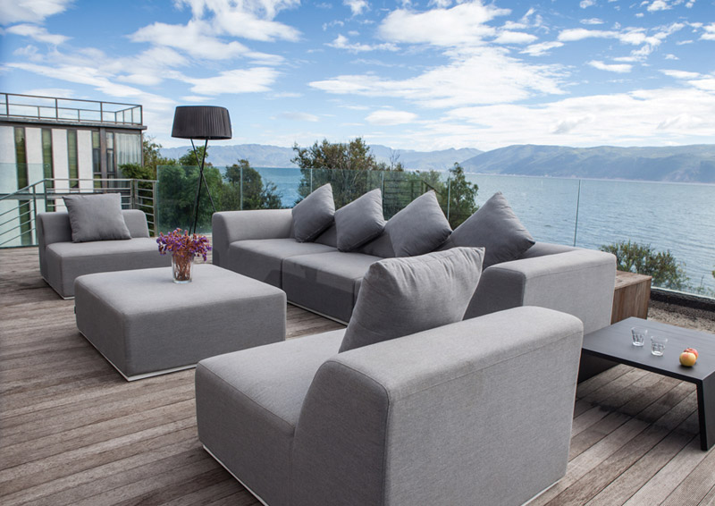 Bravo fully upholstered outdoor lounge suite