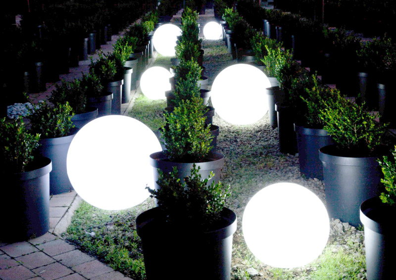 LED Orb Ball Lights